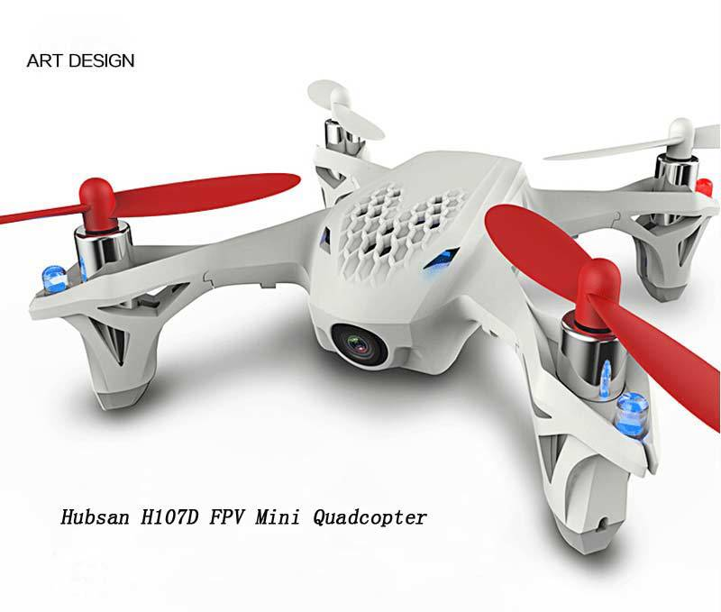 Top Selling Original Hubsan X4 H107D RC Mini 5.8G FPV RTF 6-axis System Quadcopter w/ LCD Transmitter Camera RC Plane Airplane(China (Mainland))