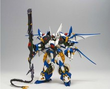 Free shipping 2014 NEW 1:144 BTmodel BT Black Knight Robot Wars OG series white knight Assembled Gundam Model