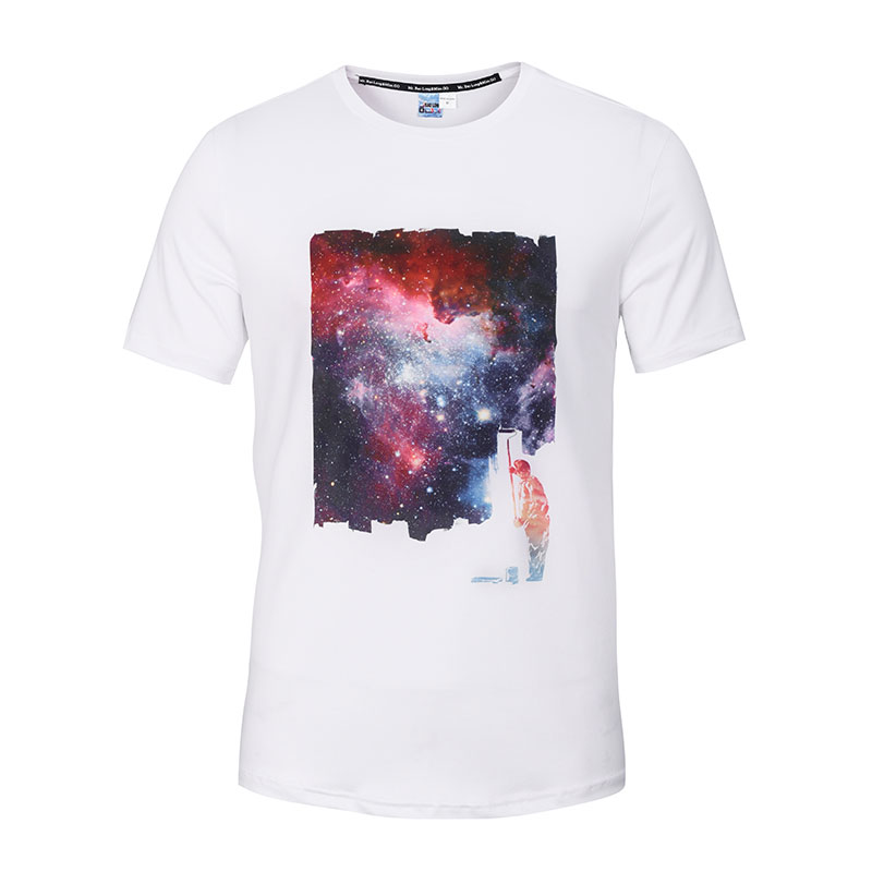 Online buy wholesale galaxy white tees from china galaxy for Galaxy white t shirts wholesale