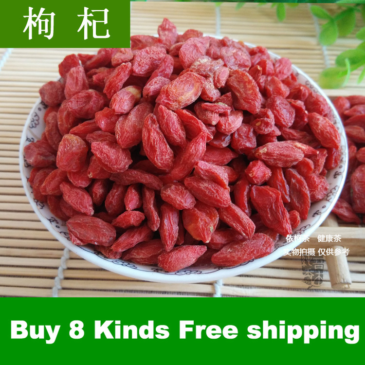Buy 8 herbal tea lot Post free Super Grade wolfberry gouqi berry medlar nourishing liver improving
