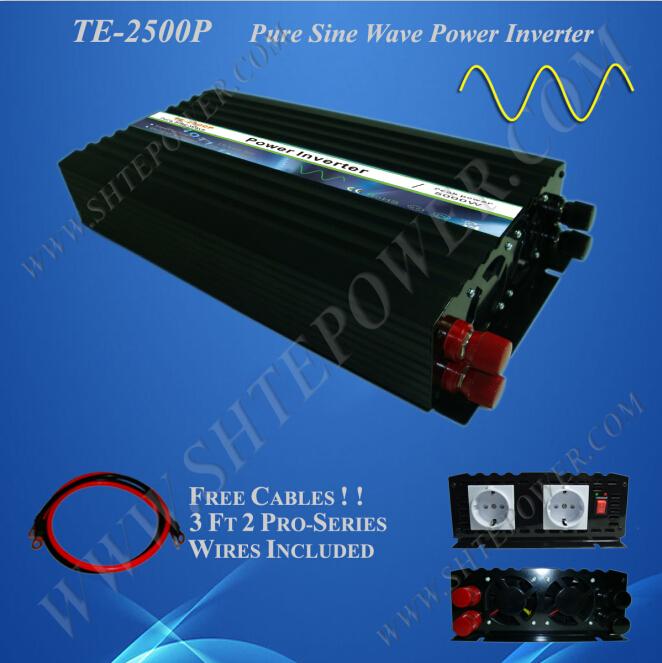 micro soalr inverer 48v 110v solar inverer 48v dc to 110v ac 2500 watt micro off grid inverter(China (Mainland))