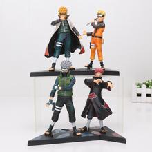 Buy 2pcs/set Naruto Figures Naruto & Namikaze Minato Hatake Kakashi & Sasori pvc action figure model toys 15cm for $12.74 in AliExpress store