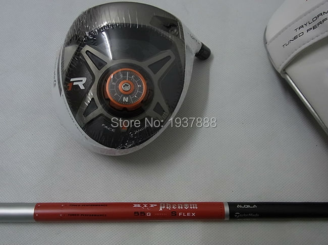 R1 Driver BlACK R1 Golf Clubs Right Hand R1 Golf Driver Adjustable Loft R/S/SR-Flex Graphite Shaft With Head Cover & Wrench(China (Mainland))