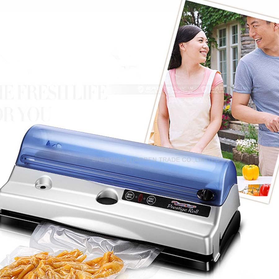 free ship by DHL Household Vacuum Sealer/FoodSaver/Home food vacuum sealer machine bag seal machine(China (Mainland))