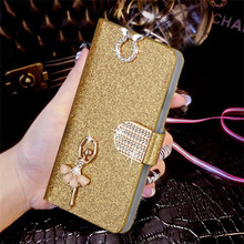 "Buy Luxury Bling Liquid Glitter Cover Meizu M3 Mini Meizu M3S Mini 5.0""Meilan 3 Cover Flip PU Leather Phone Coque Card Slot for $2.79 in AliExpress store"
