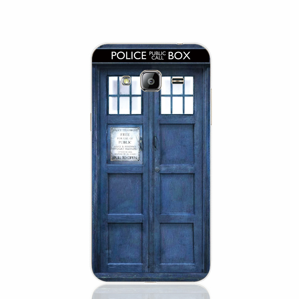 20464 Tardis Doctor Who Police Box cell phone case cover for Samsung Galaxy J1 ACE J5 2015 J7 N9150(China (Mainland))