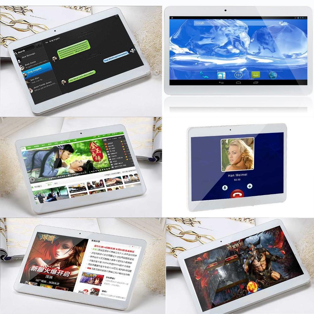 מקורי Quad Core 10 אינץ 3G טלפון אנדרואיד Tablet pc אנדרואיד 4.4 2GB זיכרון RAM 16GB ROM WiFi FM Bluetooth 2G+16G ורוד Edition