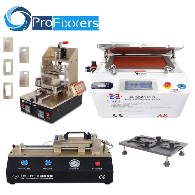 Mobile Phone Repair Set 5 in 1 Frame Laminator Machine+Laminator Machine+3 in 1 OCA Film Machine+Universal Align Mould(China (Mainland))