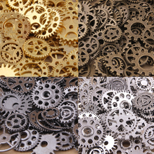 Buy Wholesale 50PCS Vintage steampunk Charms Gear Pendant Antique bronze Fit Bracelets Necklace DIY Metal Jewelry Making for $3.32 in AliExpress store