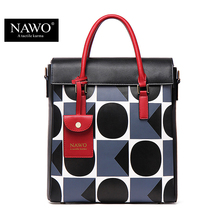 NAWO 2016 Famous Designer Brand Bags Women Leather Handbags High Quality Shoulder Bags Large Ladies Hand Bags Tote Female Blosas(China (Mainland))