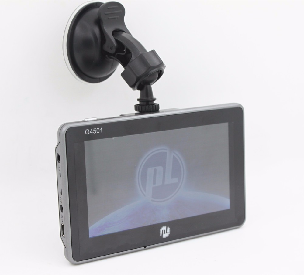 4.5 inch car dvr gps navigator android4.4.2 with IPS clear screen 854*480 wifi bluetooth google player internet vehicle gps