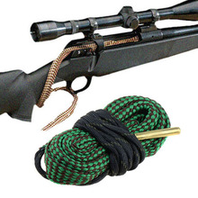 Buy Green Bore Snake Gun/Rifle Cleaning.22 Cal.223 5.56mm Boresnake Cleaner Gun Rifle Cleaning for $1.87 in AliExpress store
