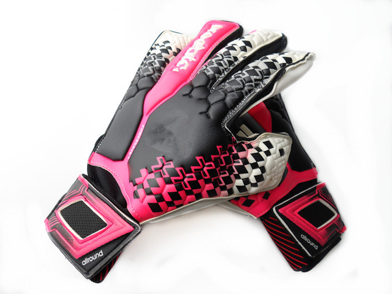 High-quality brand sports goods football soccer goalkeeper gloves(China (Mainland))