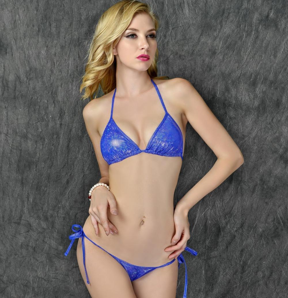 Scrunch Butt Bikinis Set 2016 Sexy Bright Brazilian Push up Bikini Women Bandage Swimwear Swimsuit Beach Bathing Suit E299(China (Mainland))