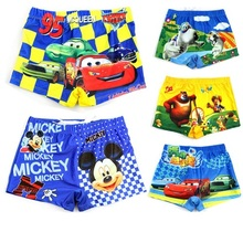 Funny Images Baby Boy Beachwear Pleasantly Cool Swimsuits Kids Big Sell Boys Swimming Shorts Cartoon Images Boys Swimming(China (Mainland))