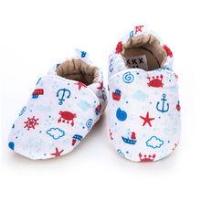[Simfamiliar] chico niñas niño primeros caminadores suaves zapatos para niños pequeños flores lindas suelas calzado zapatos de cuna para recién nacidos zapatos de bebé(China)