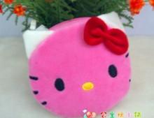 1Pcs Coin Purse Wallet Pouch Lady s Purses Plush Hello Kitty Kids Girl s Storage Bag