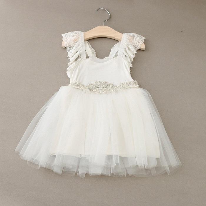 Здесь можно купить  Baby Girls Clothes Lace Tutu Dresses Fashion Childrens  Sequins Dresses for Kids Clothing 2015 Winter Summer Party Dress ZZ-450  Детские товары
