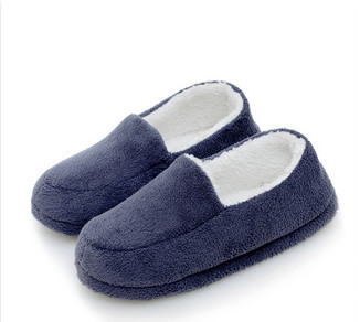 Promotion! Christmas Solid Color Home Man Slippers/Shoes Boys Winter/Autumn Home Floor shoes For Man Pantufa chinelo 42-45(China (Mainland))