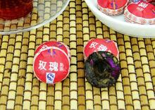 7pcs Different Kinds Flavors Chinese Yunnan Puer Tea Puer Ripe Pu Er Tea Bag Gift The