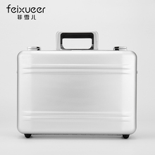 Feixueer Aluminium magnesium alloy document bags High-end suitcase The commercial code case Multi-purpose toolkit Put the box(China (Mainland))