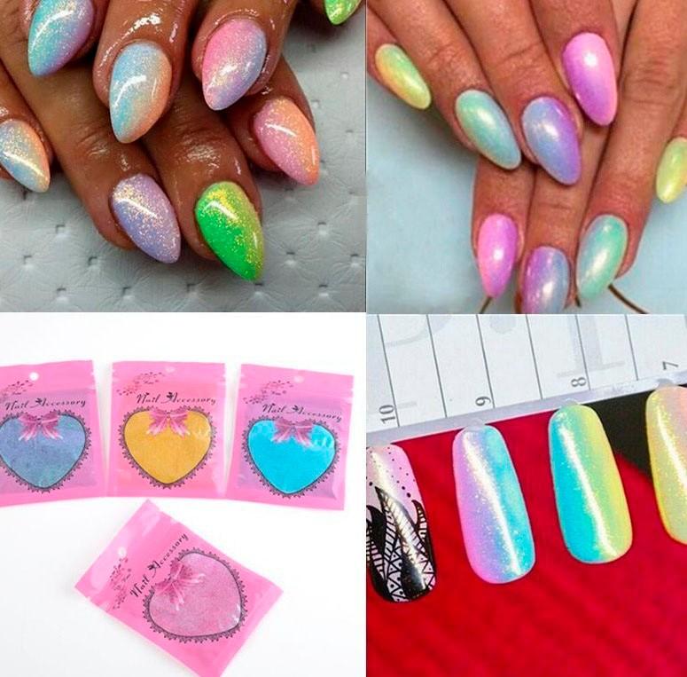 Mermaid Nail Art (8)