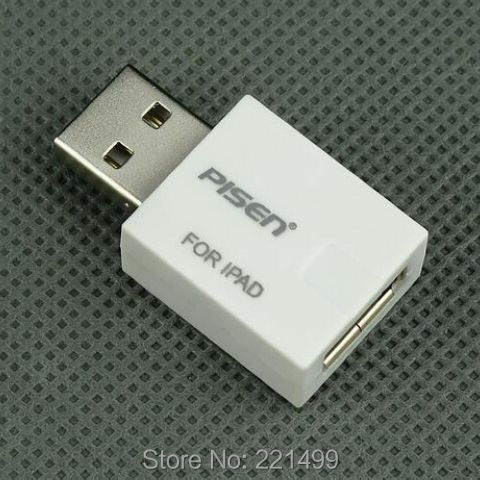 [FREE SHIPPING/EPACKET!] USB Power Adapter Booster for iPad 4 iPad Mini i-phone 5 4S iPod 500mA Up to 2A
