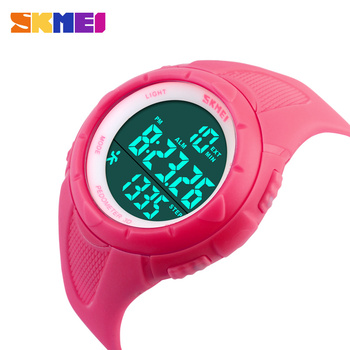 New Casual Women's Watch Fashion Pedometer Digital Fitness For Men Women Outdoor Wristwatches Skmei Sports Watches 4COLORS