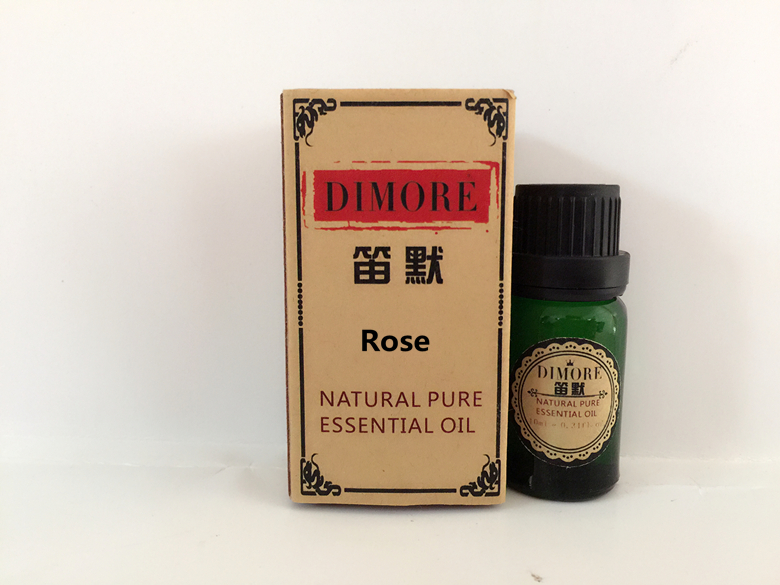 DIMORE Bulgarian rose essential oil 10ml face skin care Whitening remove yellow moisturizing massage oil