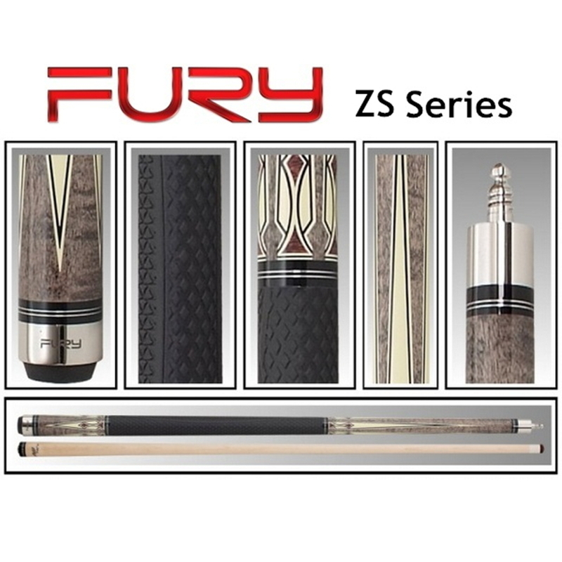 Fury pool cue, Model ZS, Cue tip 12.75mm, 149cm / 59'', Maple Billiard cue for chinese billiards, nine ball, eight ball(China (Mainland))