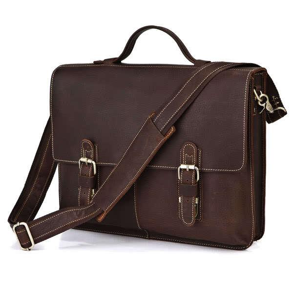 genuine first layer Leather Business Man Bag Wholesale Leather Handbag Shoulder Bag Leather Briefcase Computer bag 7090<br><br>Aliexpress
