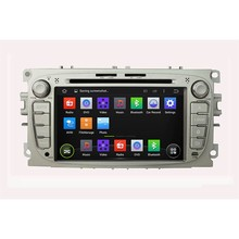 Capacitive Screen Pure Android Car DVD Navigation for Ford Mondeo S-Max Cmax Focus II GPS Radio Wifi 3G Bluetooth(China (Mainland))
