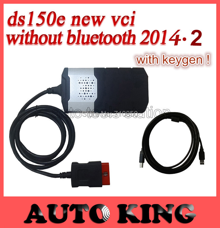 2014 .2 software+ keygen as a gift ! Newest for TCS CDP pro With ds150e DS150 VCI PRO COM 3 in1 CARs + TRUCKs 3 in1 --ship free(China (Mainland))