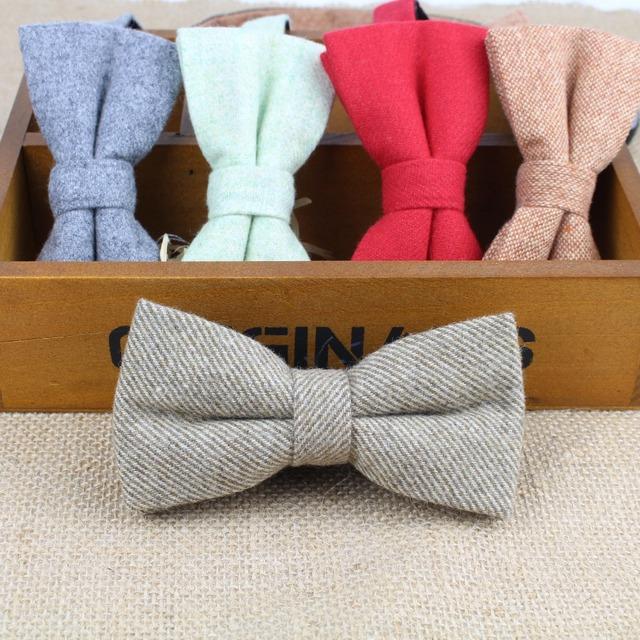 Улучшенный классические формальные вата галстук-бабочка Gravata несколько цветов ...