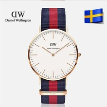 Daniel Wellington luxury brand for men women and elegant watches nylon strap sports brand watches casual