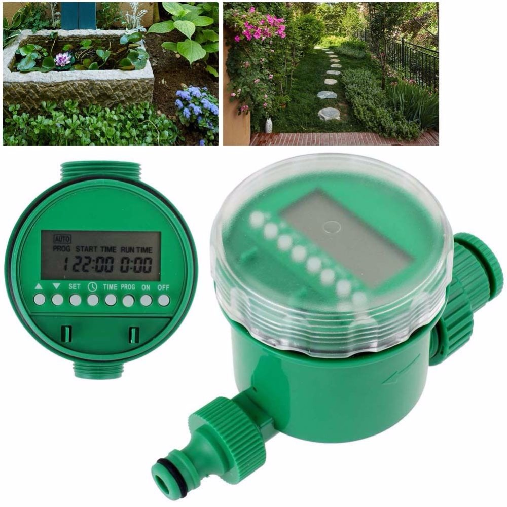 2016 Garden Automatic Electronic Water Timer LCD Water Timer AutomaticController Digital Intelligence Watering System(China (Mainland))