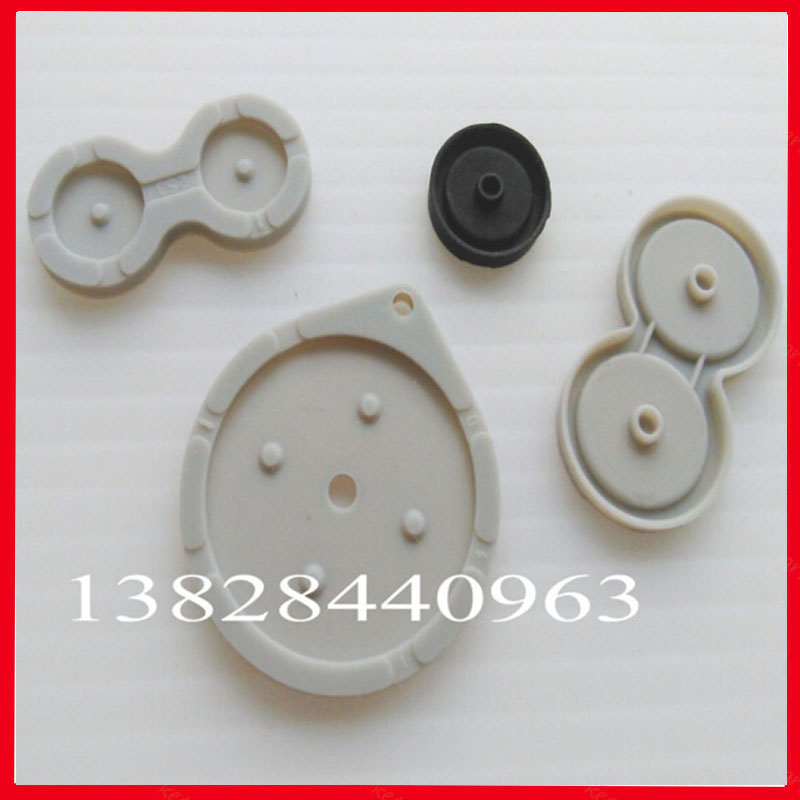 100set/lot 4 in 1 Conductive Rubber Button D-Pad Pads Repair For Nintendo GBA SP Controller(China (Mainland))