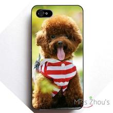 Chocolate Cute Teddy Plastic back skins mobile cellphone cases for iphone 4/4s 5/5s 5c SE 6/6s plus ipod touch 4/5/6