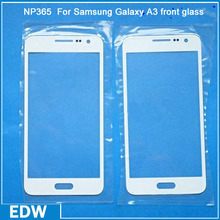 Replacement White Front Glass For Samsung A3
