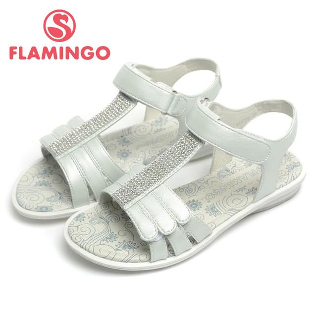 ФЛАМИНГО 2016 новое прибытие летние дети обувь мода высокого качества 100% модные детские сандалии для девочки QS5735