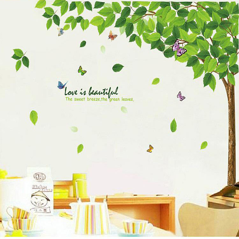 Tree Wall Sticker stickers for kids rooms Baby Nursery Room Decor Wall ...