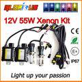 12V 55W H4 Bi xenon lamp kit 9004 9007 H13 H4 hid hi lo BI XENON