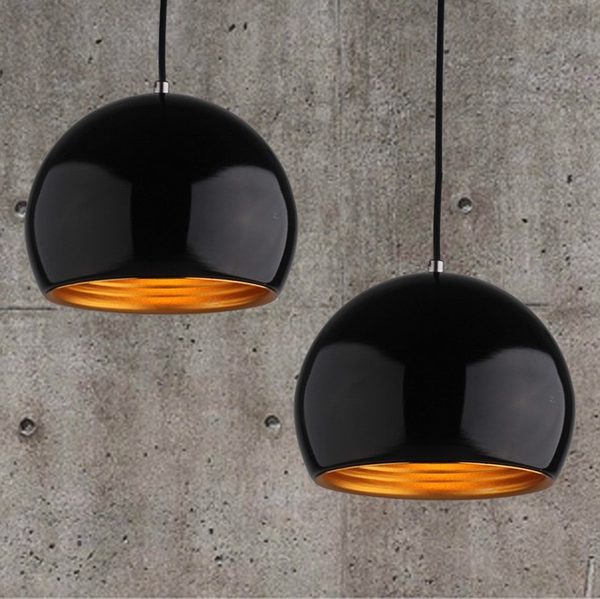 Metal Pendant Lamp Simple ball chandelier bar dining table lamp chandelier home decor(China (Mainland))