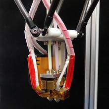 High quality new updated Dual Extruder DIY delta mental 3d printer kit Support more than 8