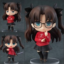 Newest Anime Nendoroid Fate stay night Tohsaka Rin #409 10cm Movable PVC Action Figure Collection Model toys christmas gift