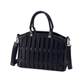 Korean Style Fashion Striped Handbag Knitting Stripe Designer Shoulder Bag New Trendy Casual Solid Color Crossbody
