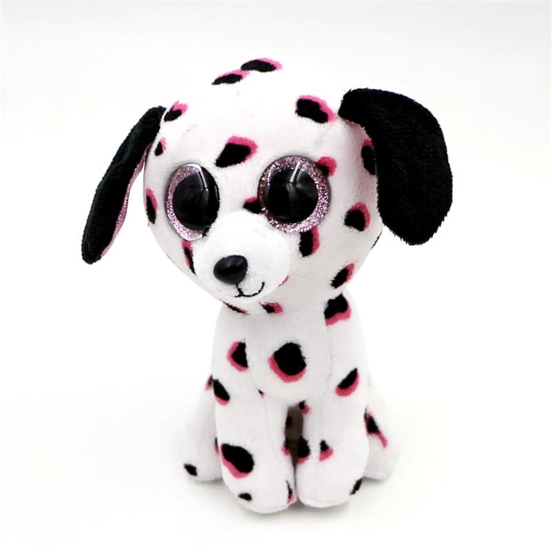 Ty Beanie Boos Original Big Eyes Plush Kawaii Doll Child Birthday Colorful Owl Stuffed Animals TY Baby 10-15cm Kids Toys(China (Mainland))