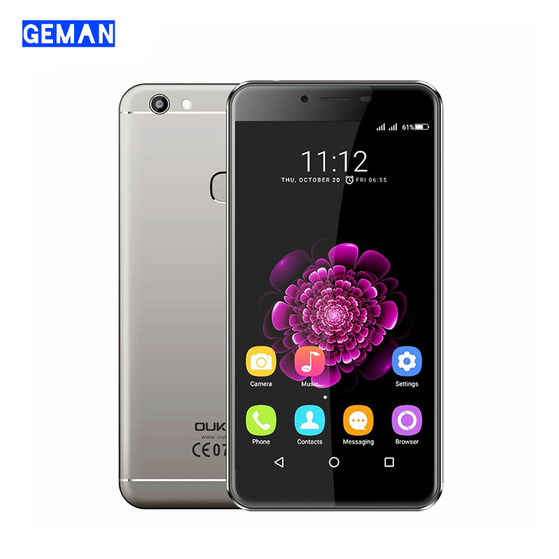 "OUKITEL U15S 4G Fingerprint Smartphone 5.5"" IPS MTK6750T Octa Core Cellphone 4GB+32GB Android 6.0 16MP+8MP Mobile Phone(China (Mainland))"