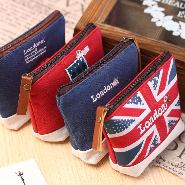 Гаджет  New Fashion Women Canvas Coin Purse Cute Vintage Wallets Storage Bags Monederos Card Bags Bolsas Carteira Feminina Free Shipping None Камера и Сумки