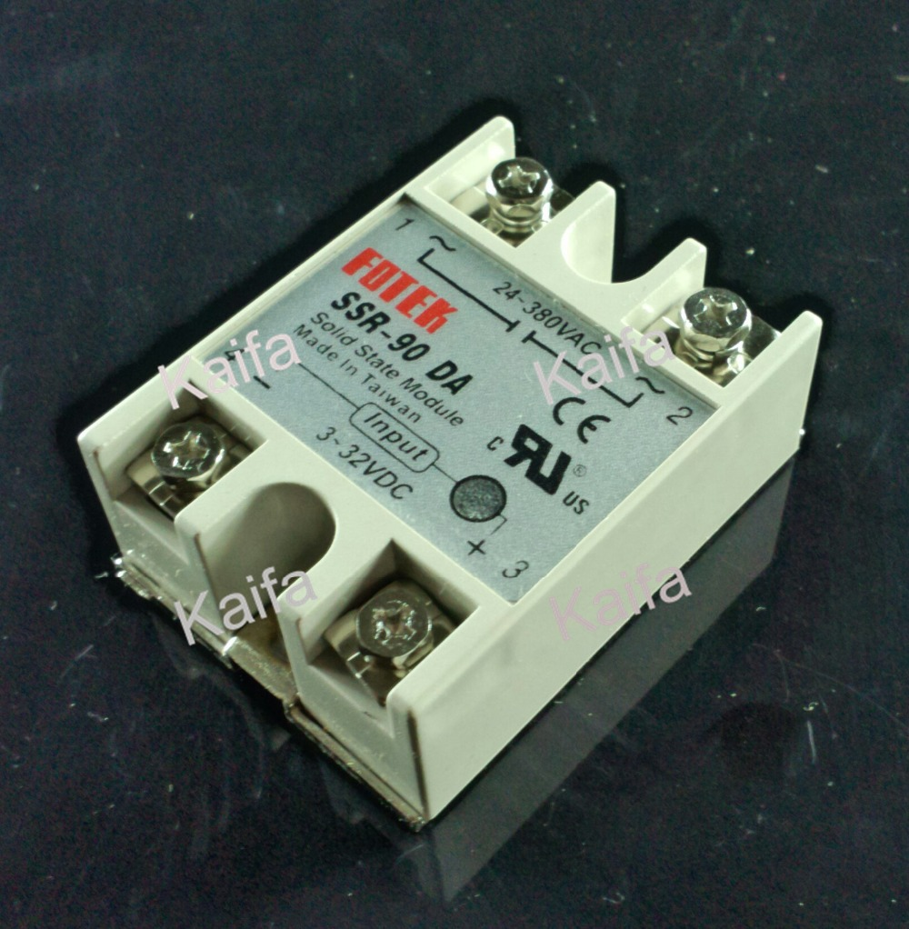 FREE SHIPPING Industrial FOTEK Solid State Relay SSR-90DA 90A DC control AC(China (Mainland))